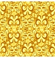 Seamless vintage yellow background vector
