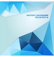 Blue and dark blue abstract geometric background vector