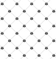 Wheat seamless cross pattern simple black and vector