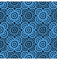 Background dark blue and black vector