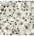 Sakura seamless pattern vector