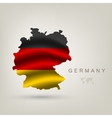 Flag of germany as a country vector