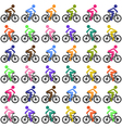 Cycling background vector