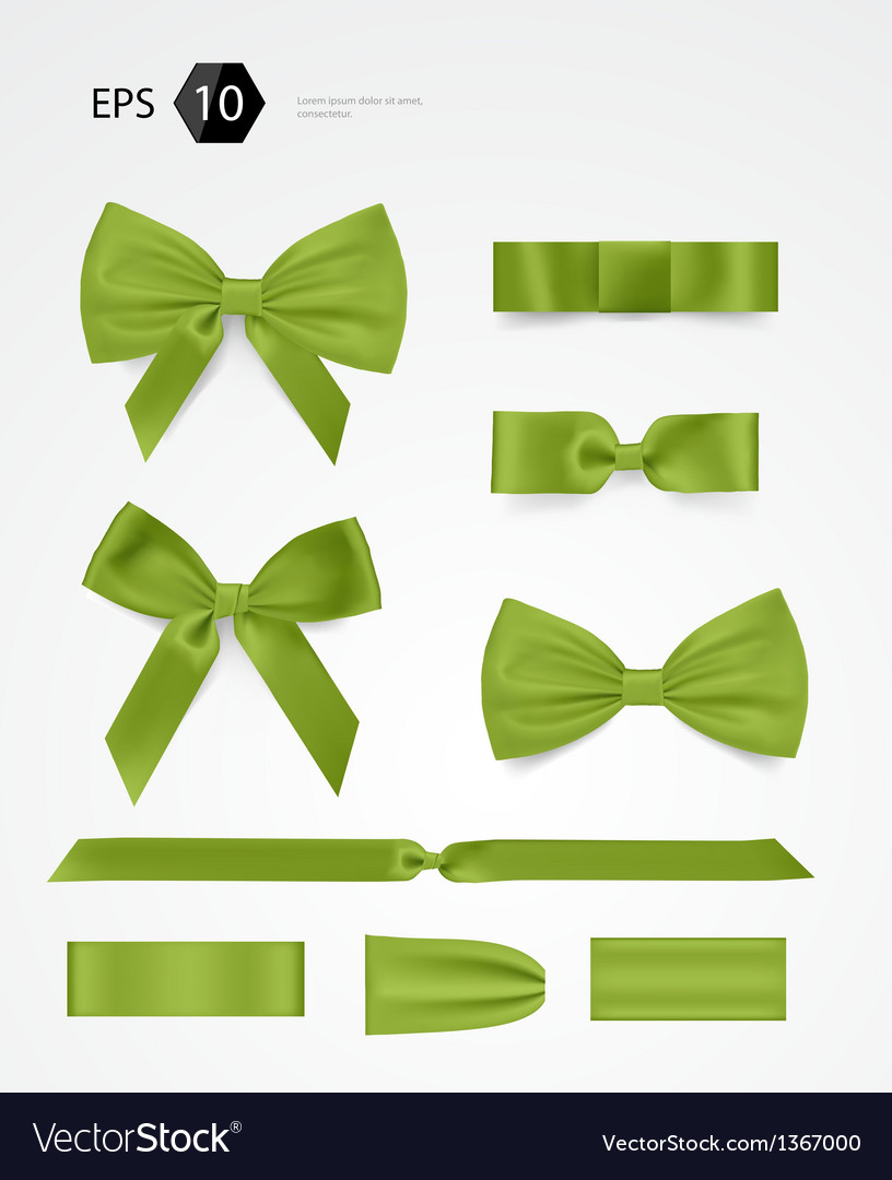 Bow collection vector | Price: 1 Credit (USD $1)