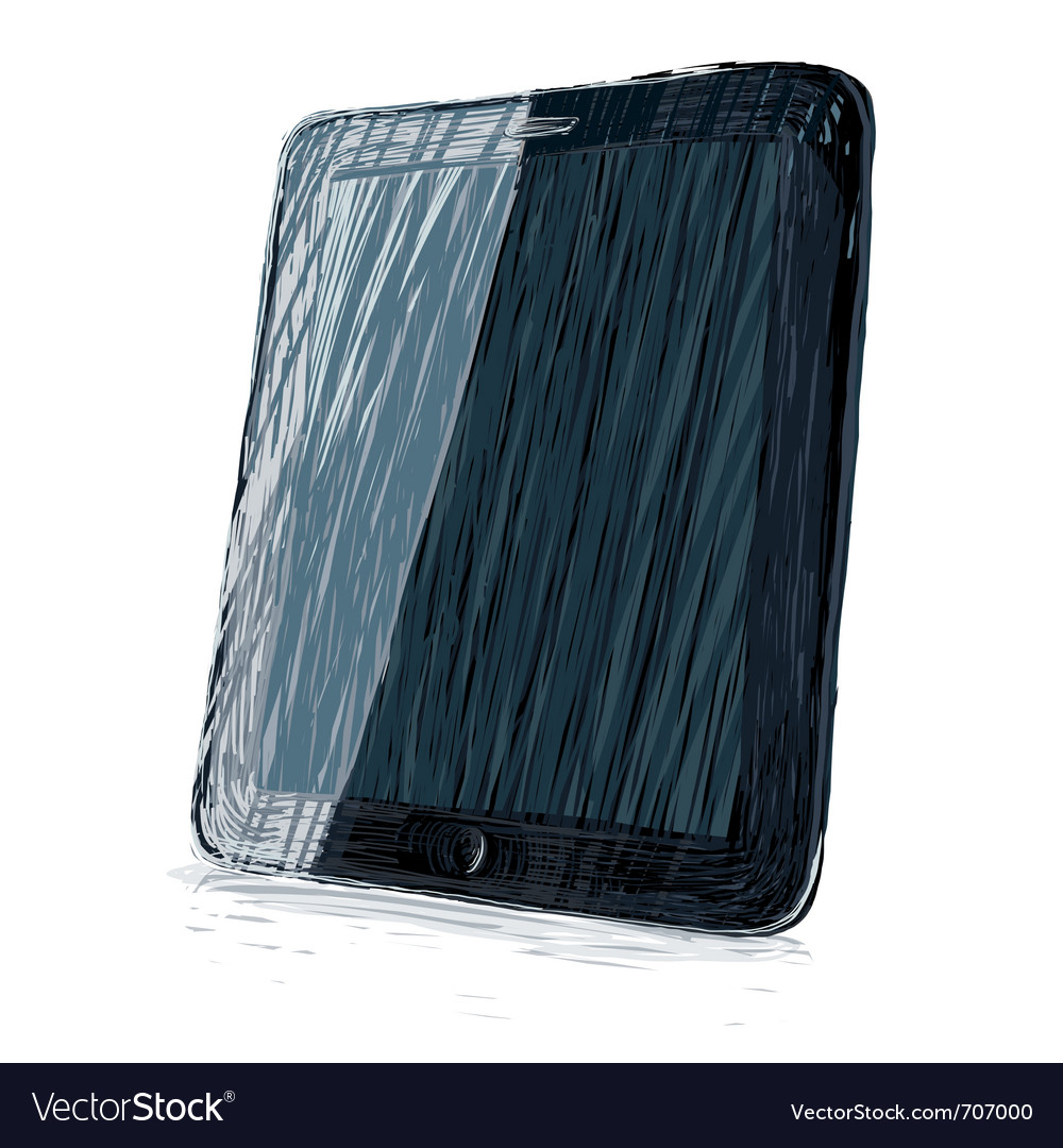Digital pad all colors and layers editable vector | Price: 1 Credit (USD $1)