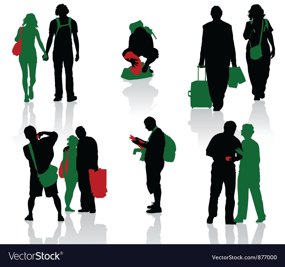 Tourist vector | Price: 1 Credit (USD $1)