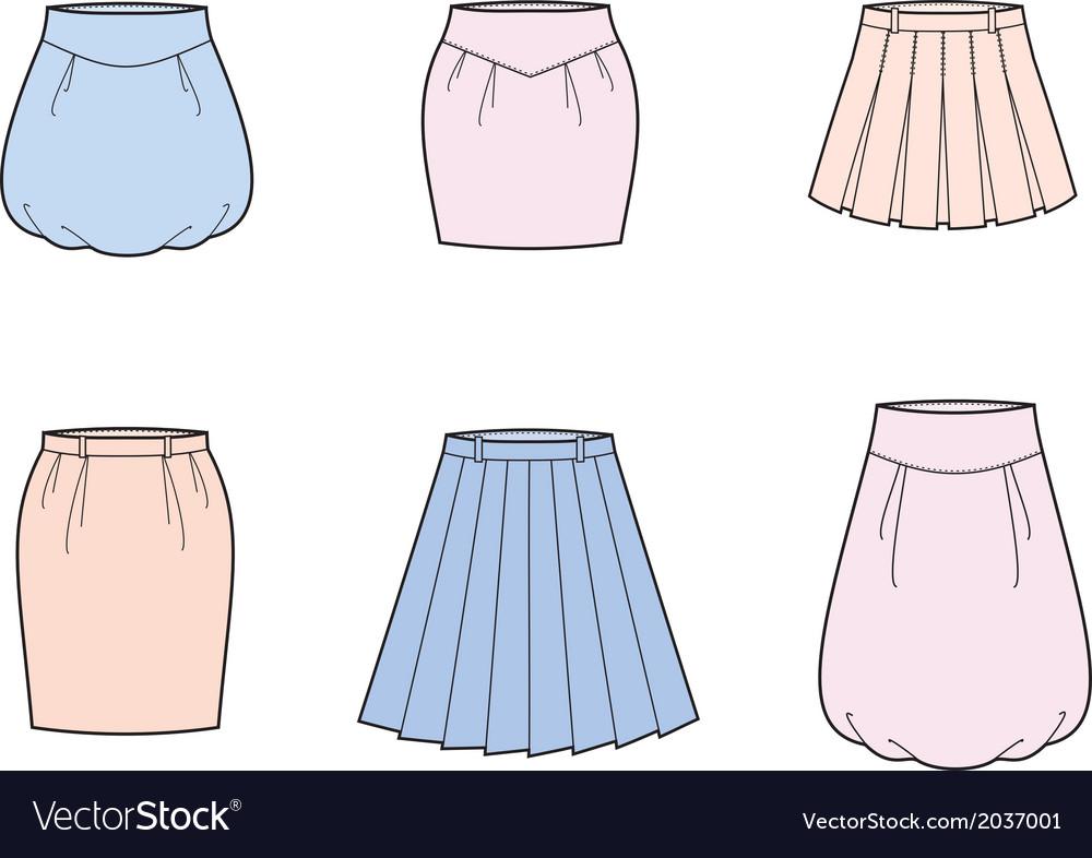 Skirt vector | Price: 1 Credit (USD $1)