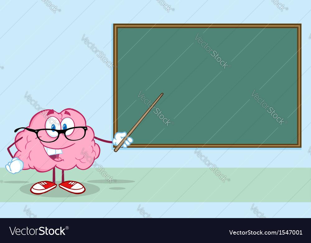 Smart brain teaching vector | Price: 1 Credit (USD $1)