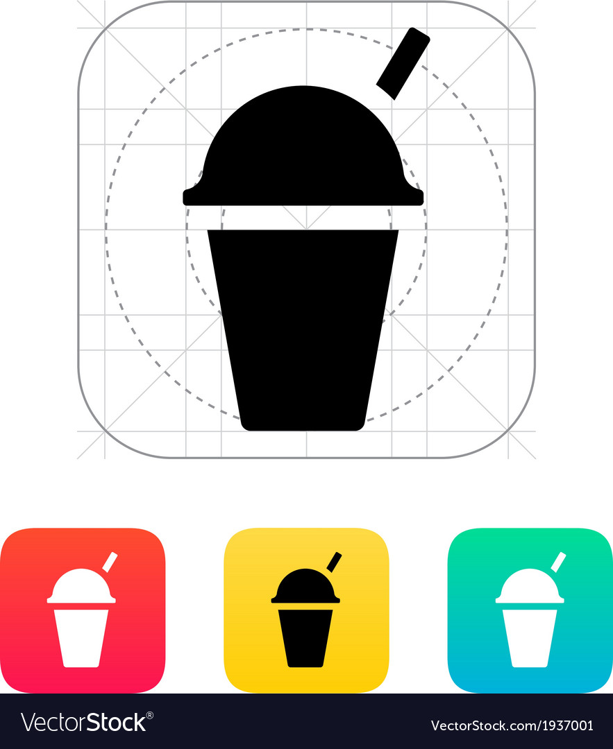 Takeaway cup icon vector | Price: 1 Credit (USD $1)