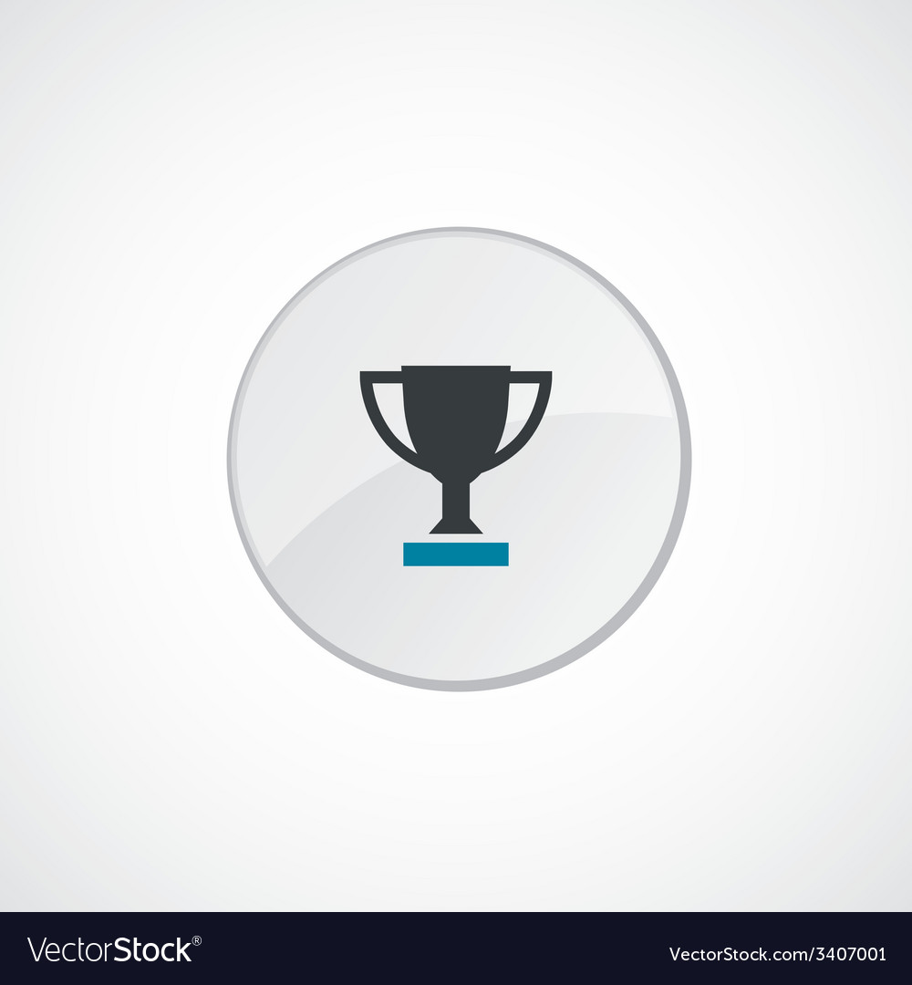 Winner cup icon 2 colored vector | Price: 1 Credit (USD $1)