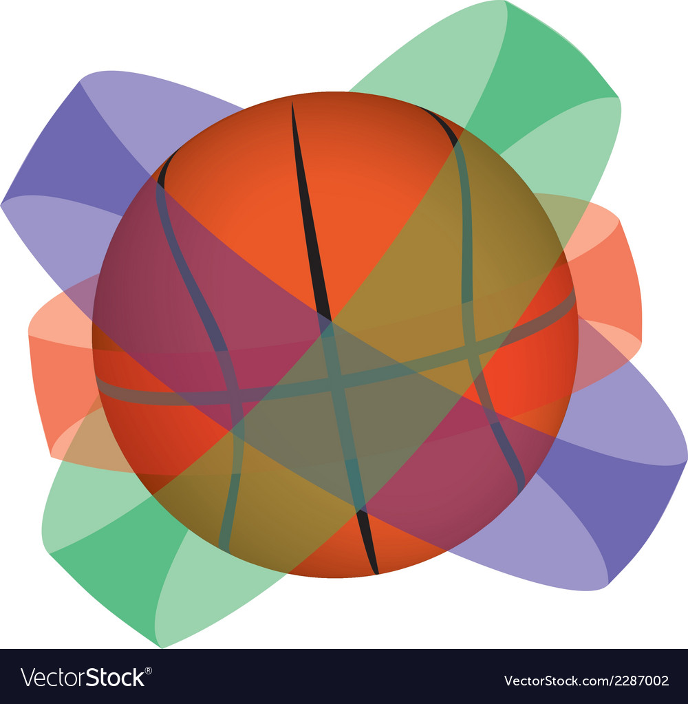 Basketball globe vector | Price: 1 Credit (USD $1)