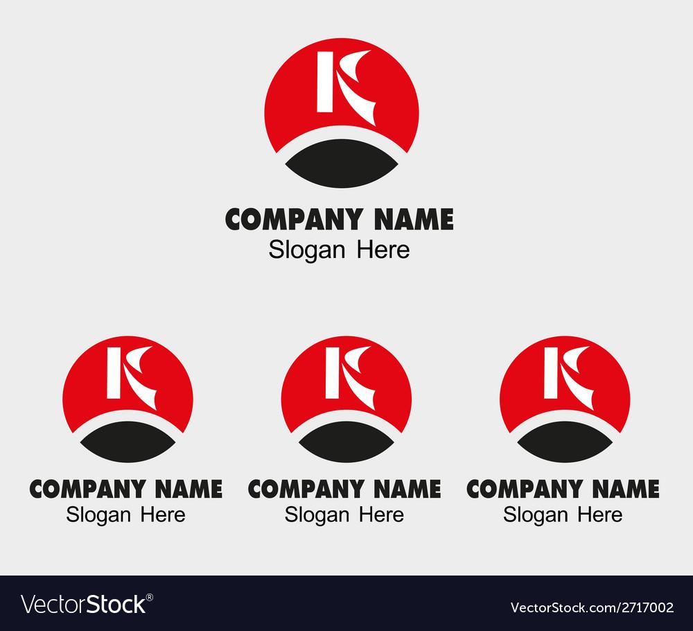 K letter logo - template icon letter k vector   Price: 1 Credit (USD $1)