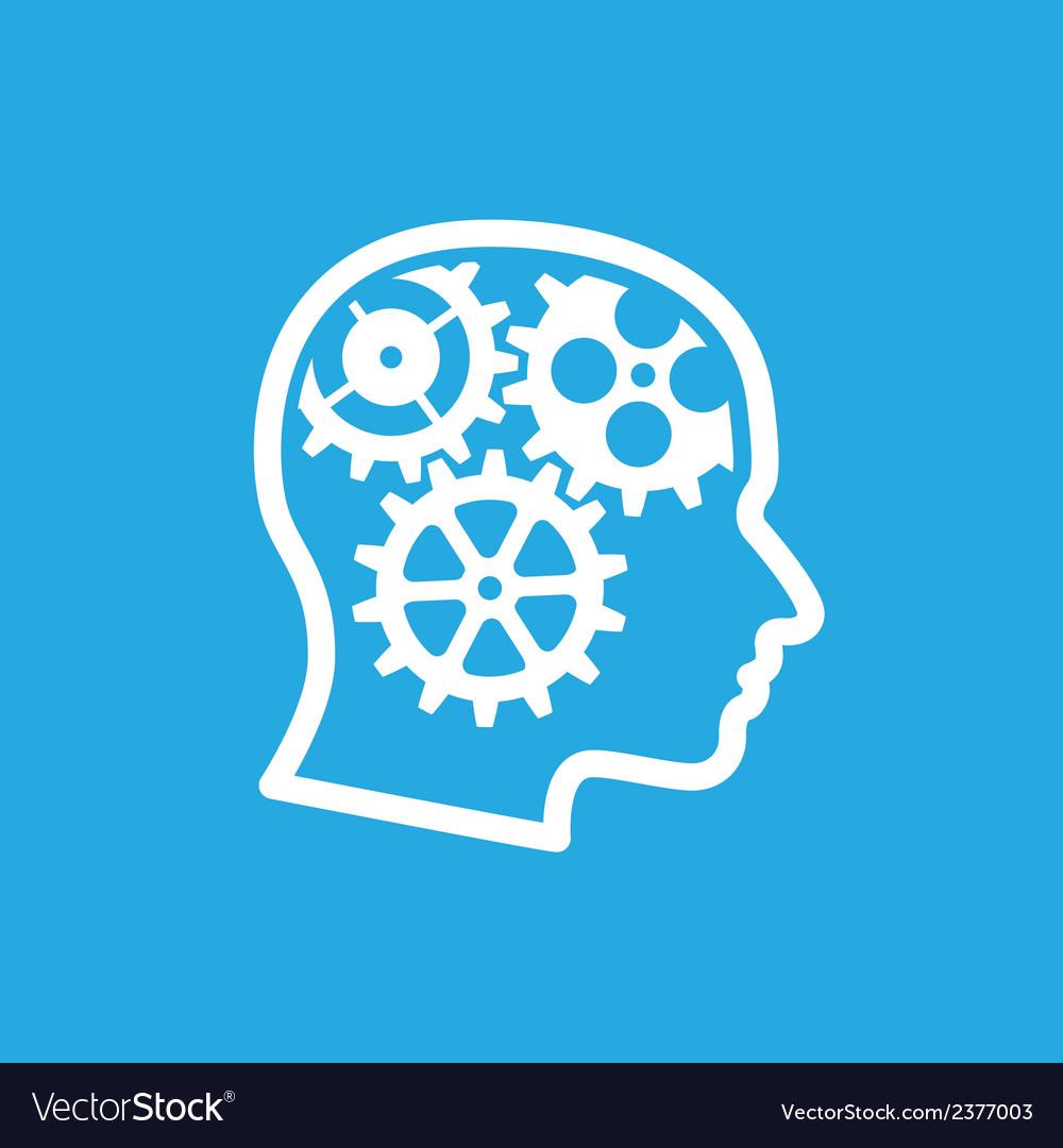 Brain gears 2 vector   Price: 1 Credit (USD $1)