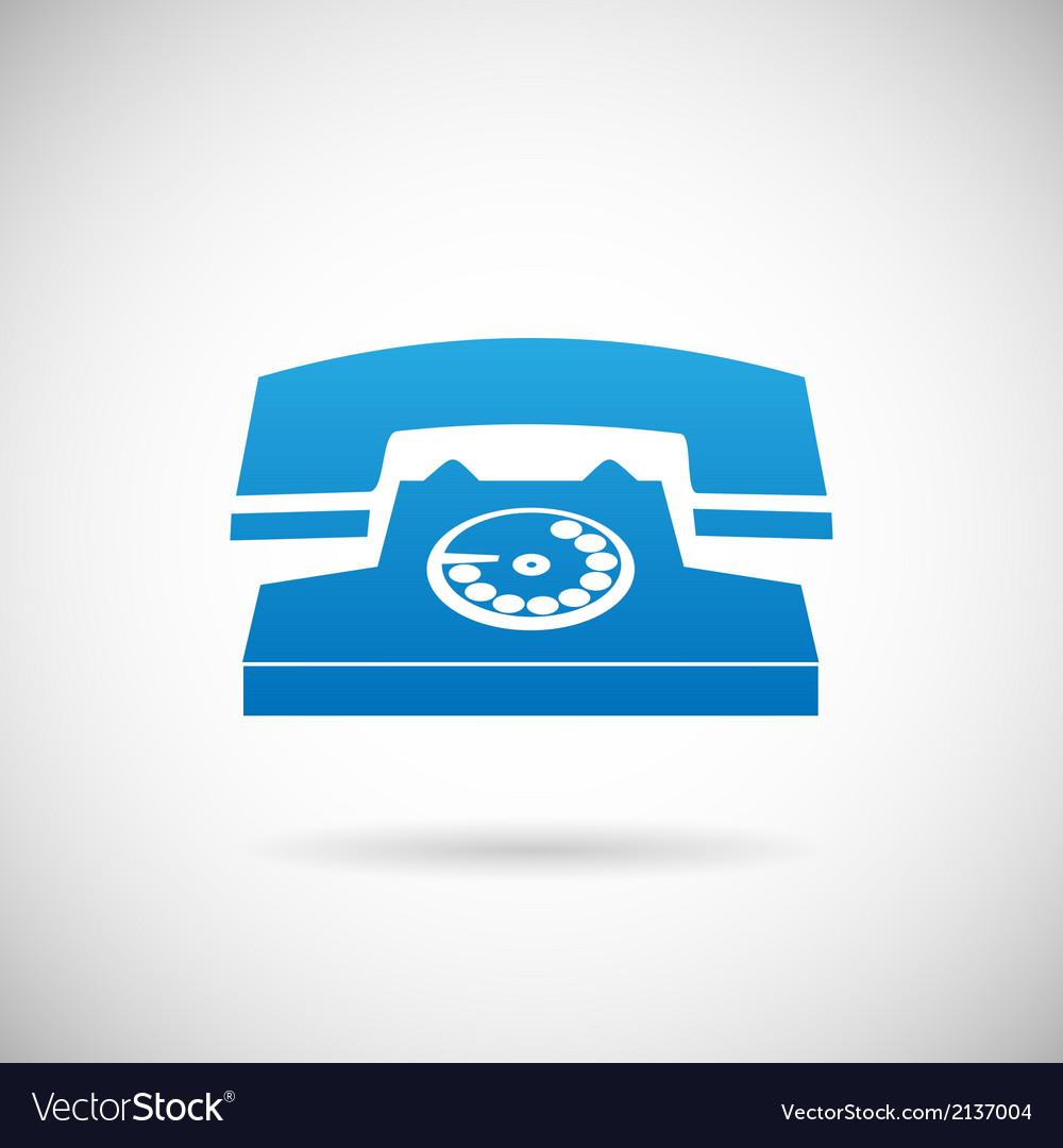 Call symbol phone icon design template vector | Price: 1 Credit (USD $1)
