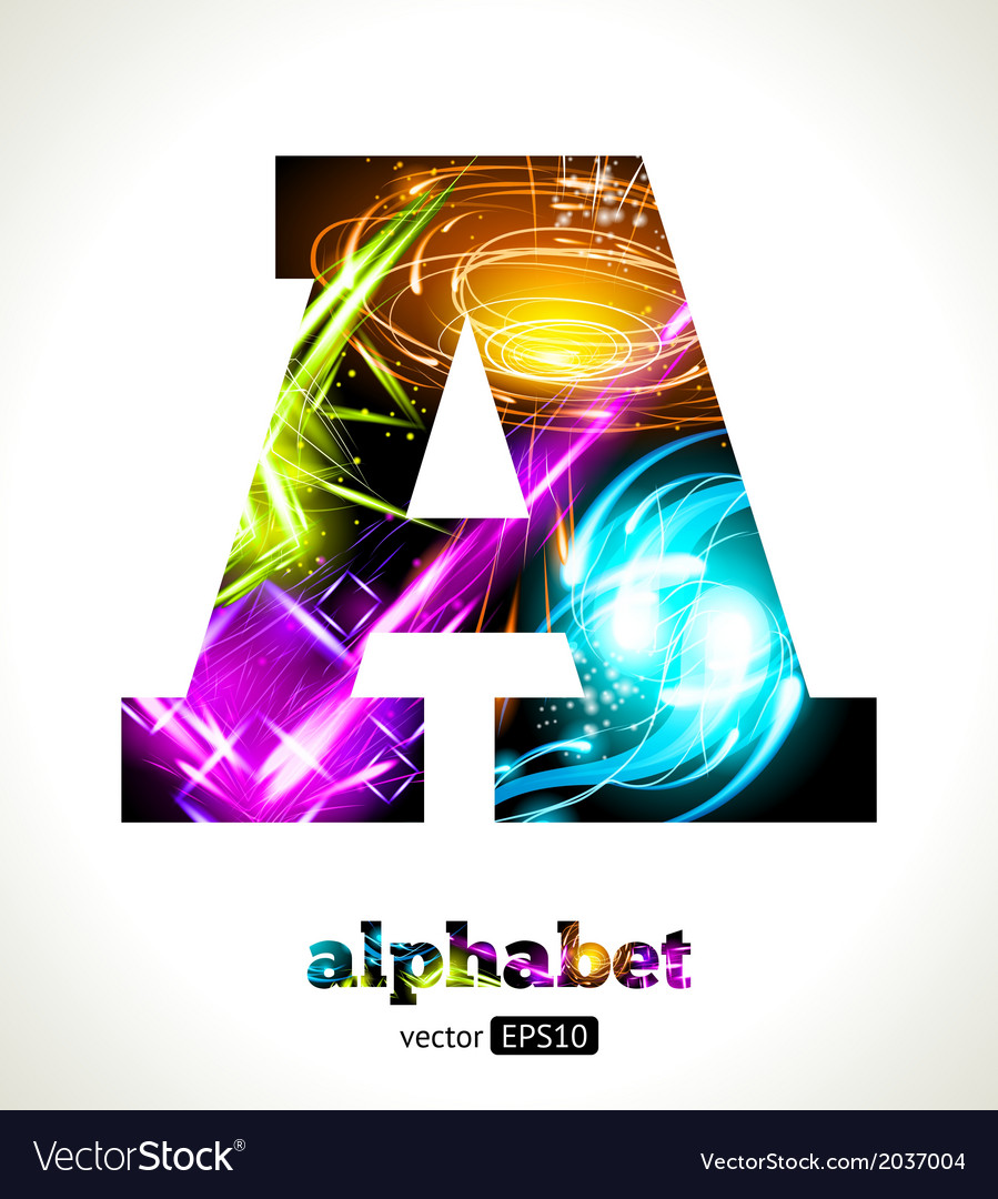 Design abstract letter a vector | Price: 1 Credit (USD $1)