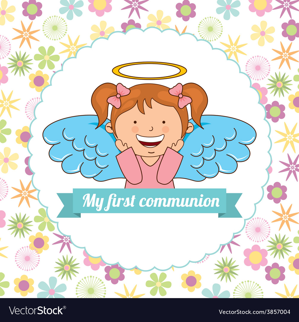 My first communion vector   Price: 1 Credit (USD $1)
