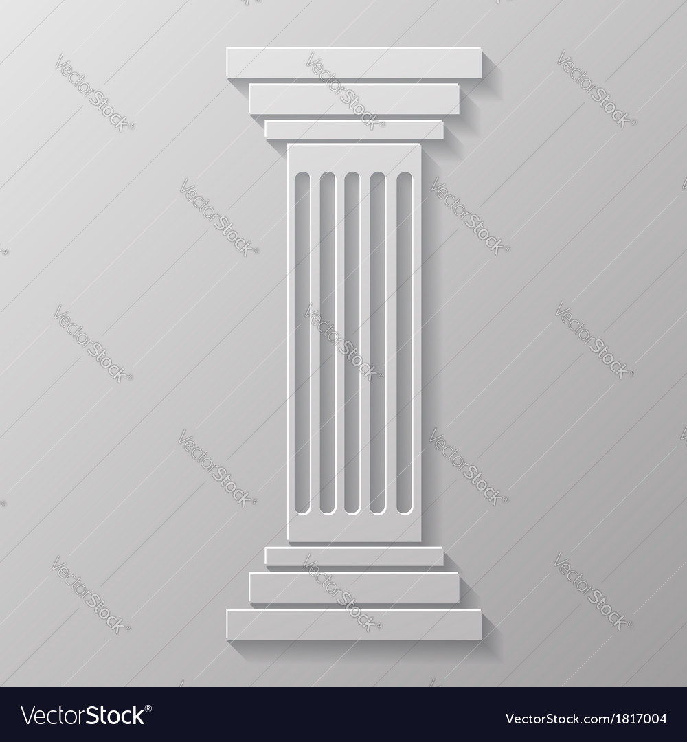 Old column vector | Price: 1 Credit (USD $1)