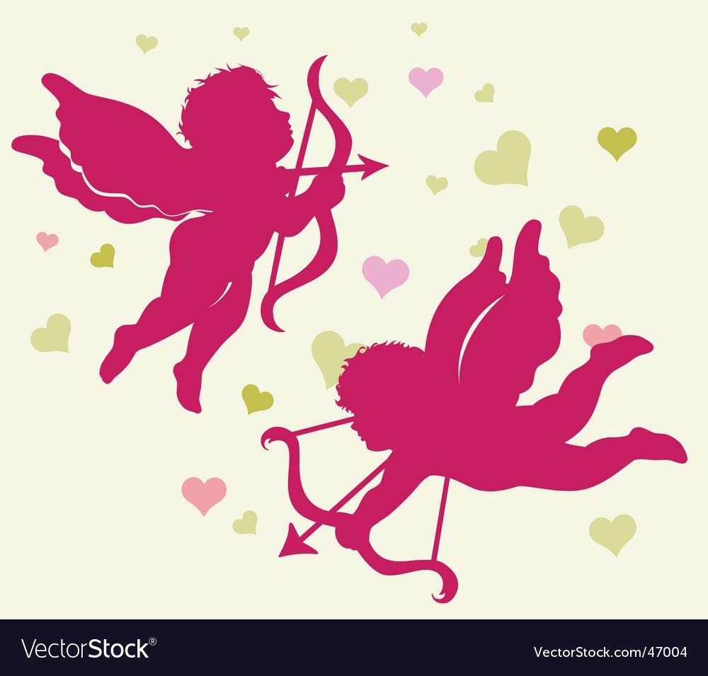 Valentine's day cupid vector   Price: 1 Credit (USD $1)