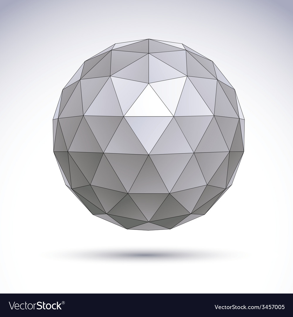 Abstract geometric 3d object clear eps 8 vector   Price: 1 Credit (USD $1)