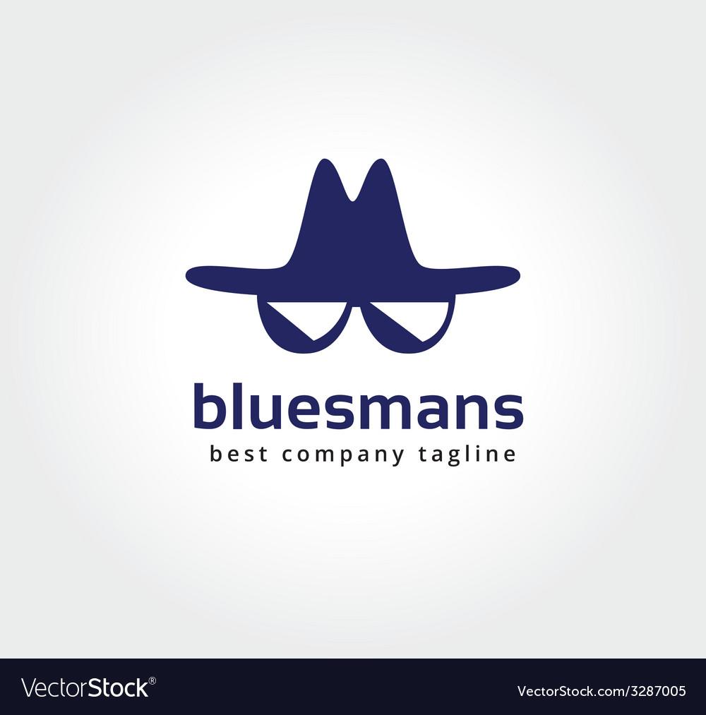Abstract spy face logo icon concept logotype vector | Price: 1 Credit (USD $1)