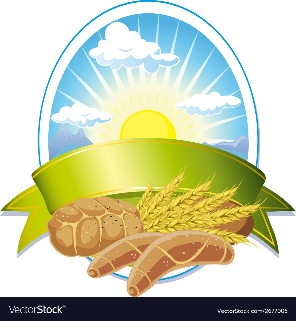 Cereal label vector | Price: 1 Credit (USD $1)