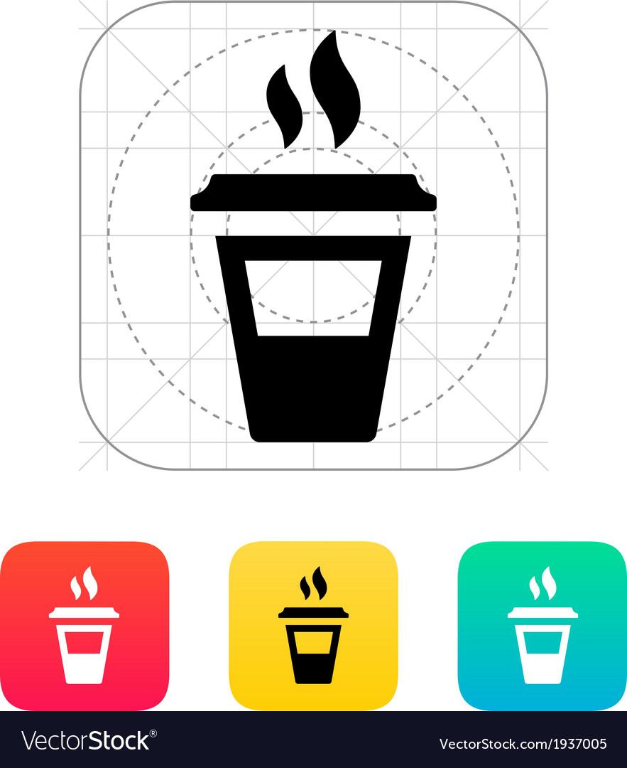 Half plastic cup icon vector | Price: 1 Credit (USD $1)
