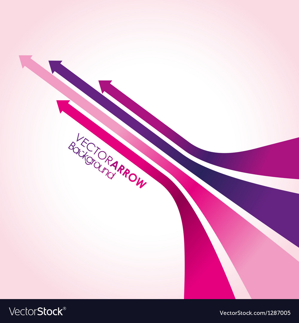Pink arrow strips vector | Price: 1 Credit (USD $1)