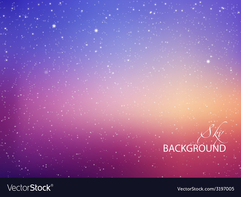Space with stars vector | Price: 1 Credit (USD $1)