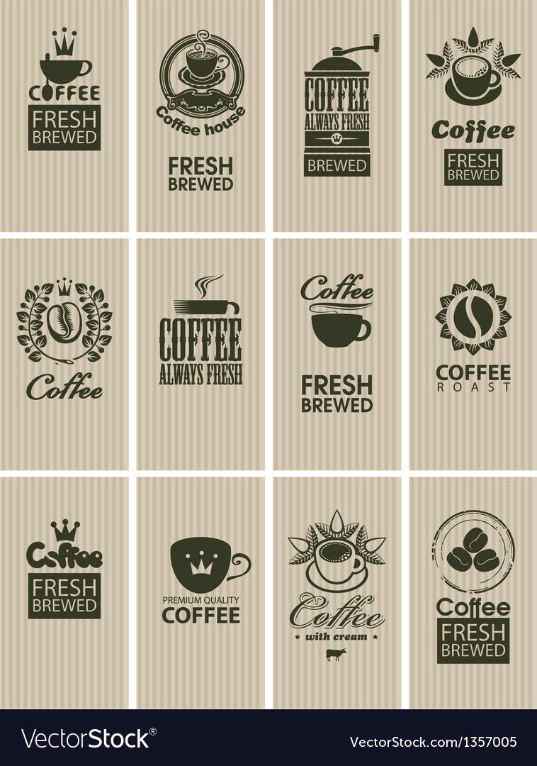 Vintage coffee vector | Price: 1 Credit (USD $1)