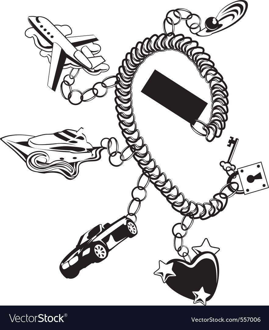 Bracelet vector | Price: 1 Credit (USD $1)