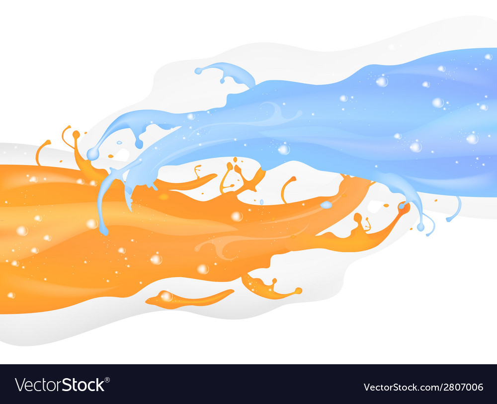 Splashy abstract vector | Price: 1 Credit (USD $1)