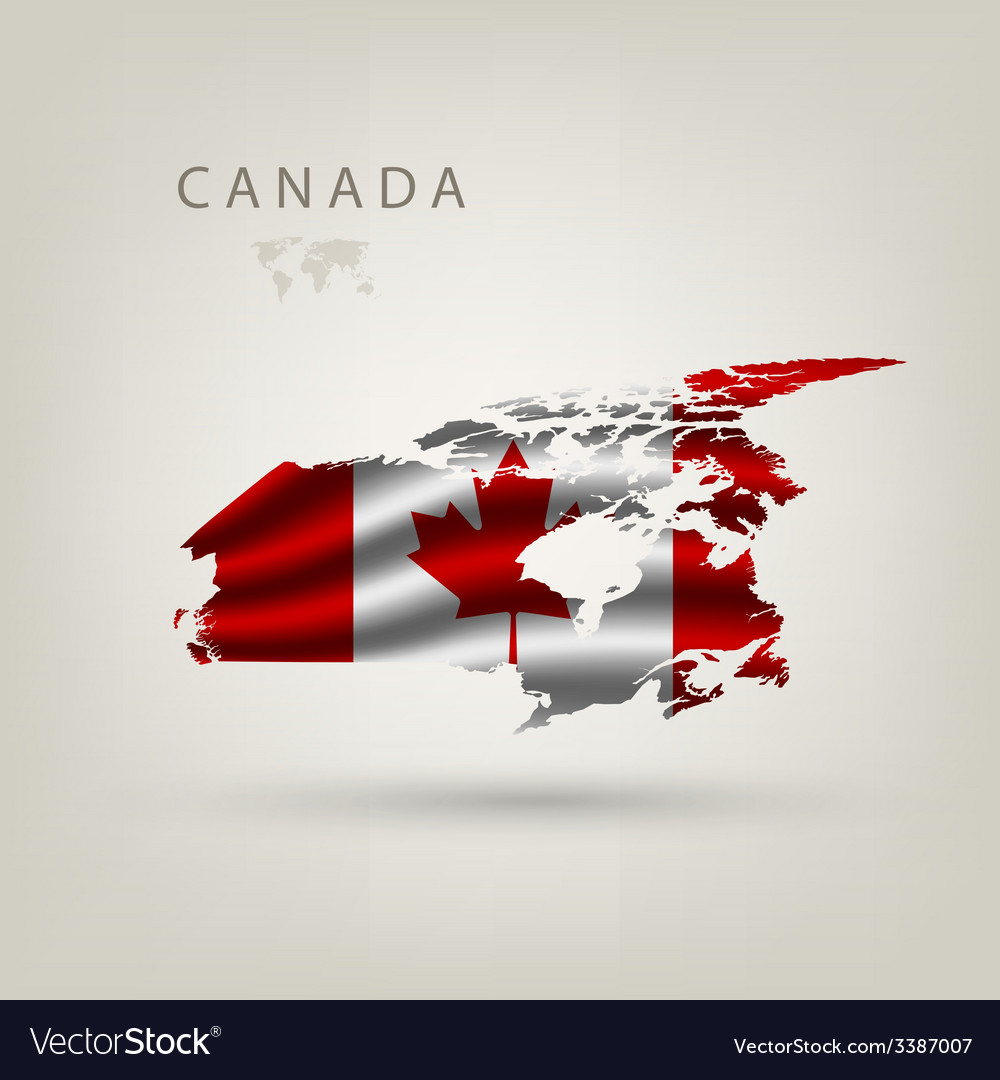 Flag of canada as a country vector | Price: 3 Credit (USD $3)