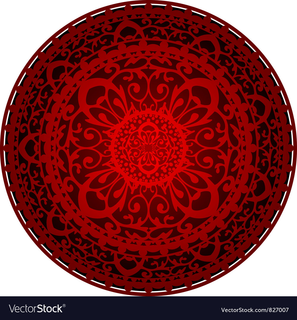 Oriental rug vector | Price: 1 Credit (USD $1)