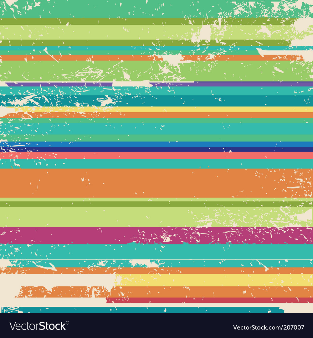 Vintage retro stripes vector | Price: 1 Credit (USD $1)