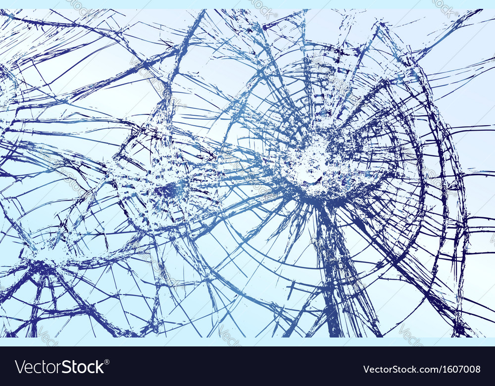Broken glass vector | Price: 1 Credit (USD $1)