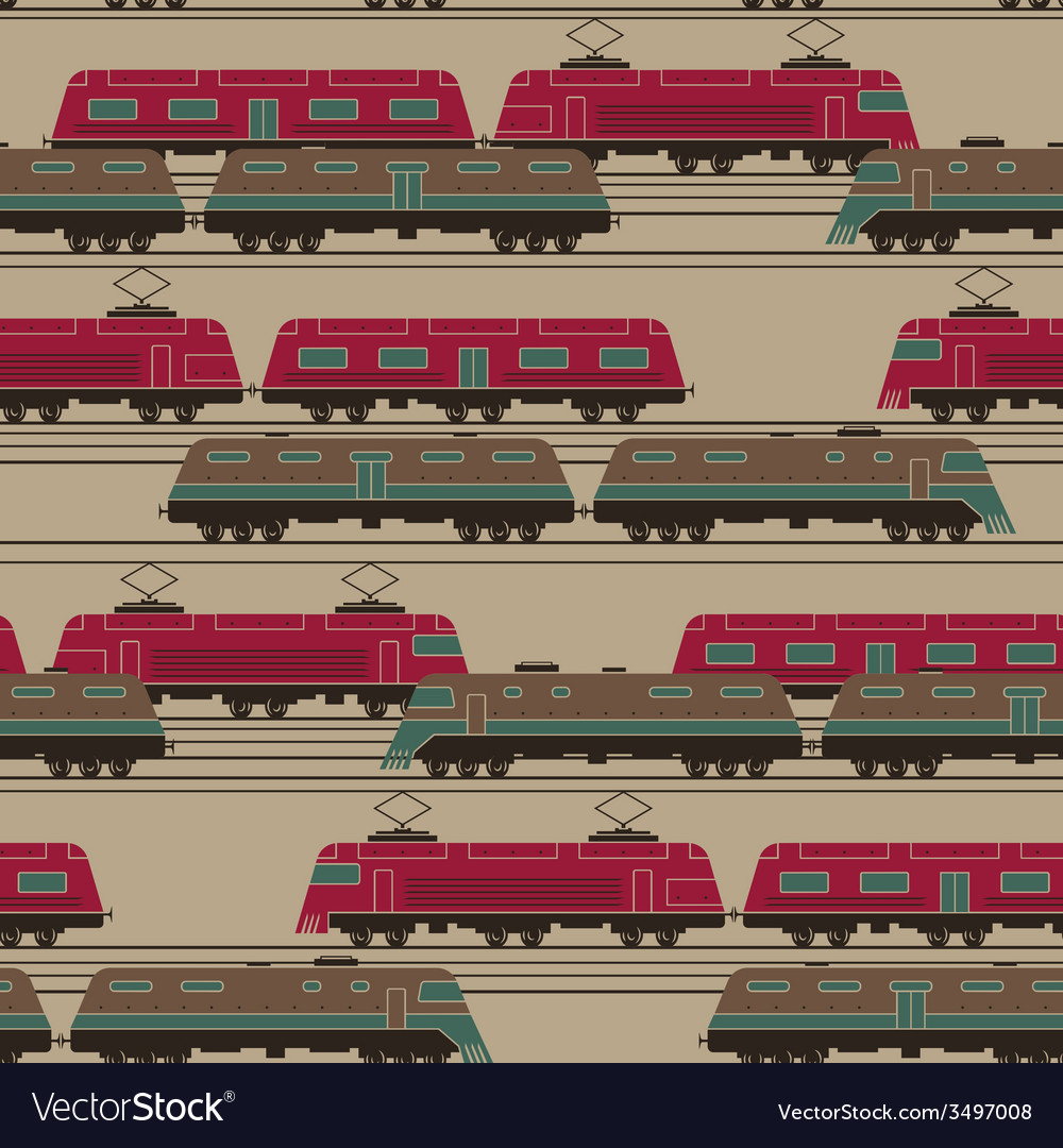 Train pattern vector | Price: 1 Credit (USD $1)