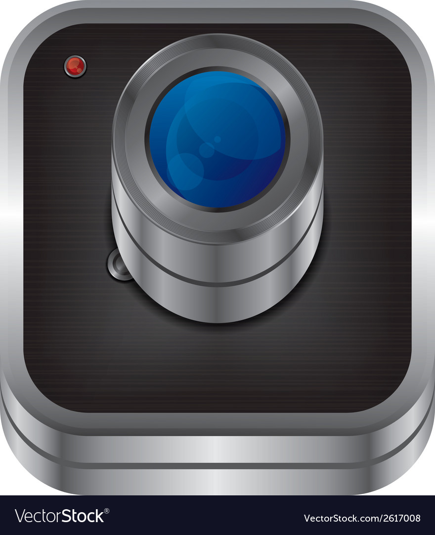 Webcam design vector | Price: 1 Credit (USD $1)