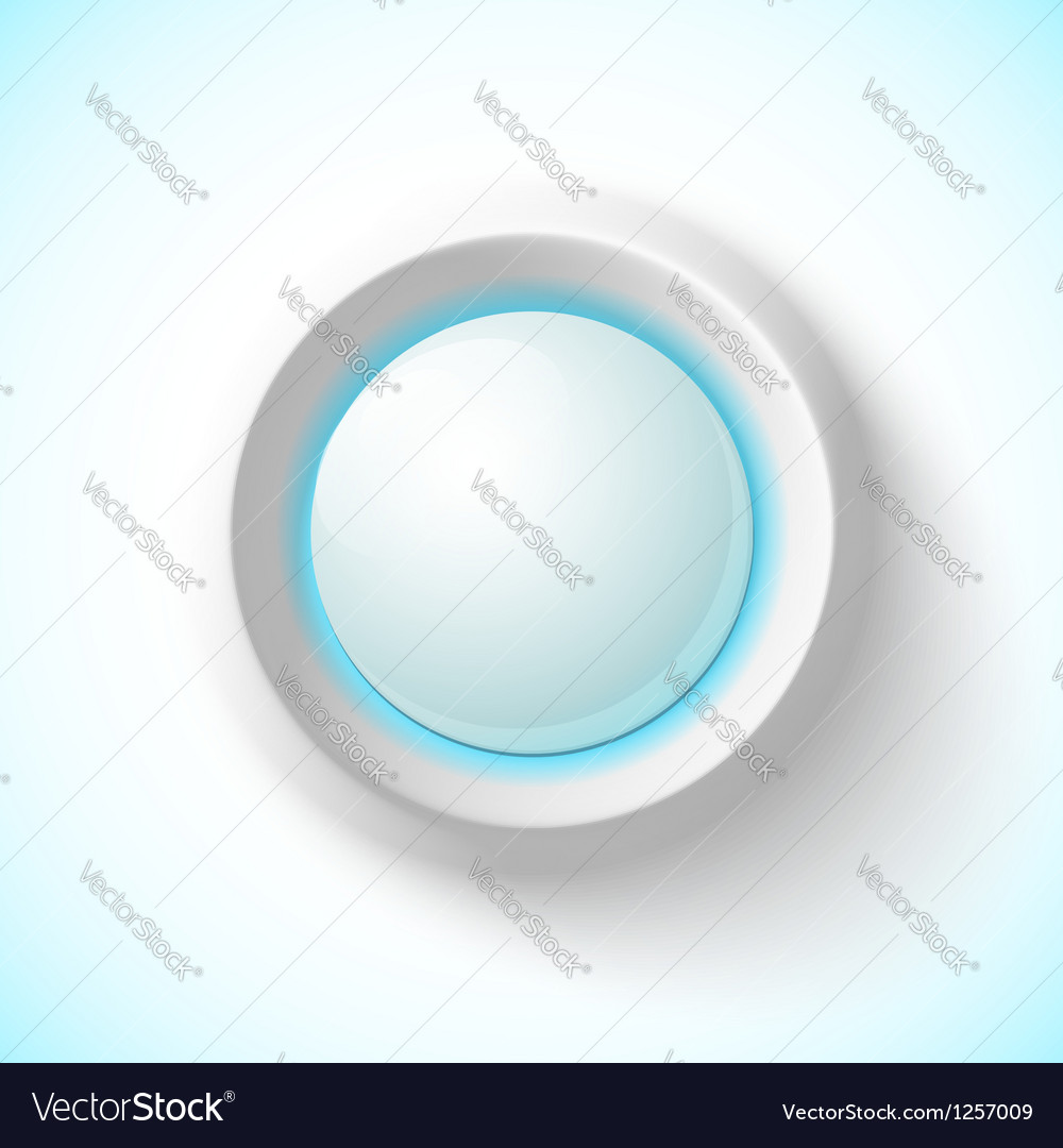 Blue plastic navigation button vector | Price: 1 Credit (USD $1)