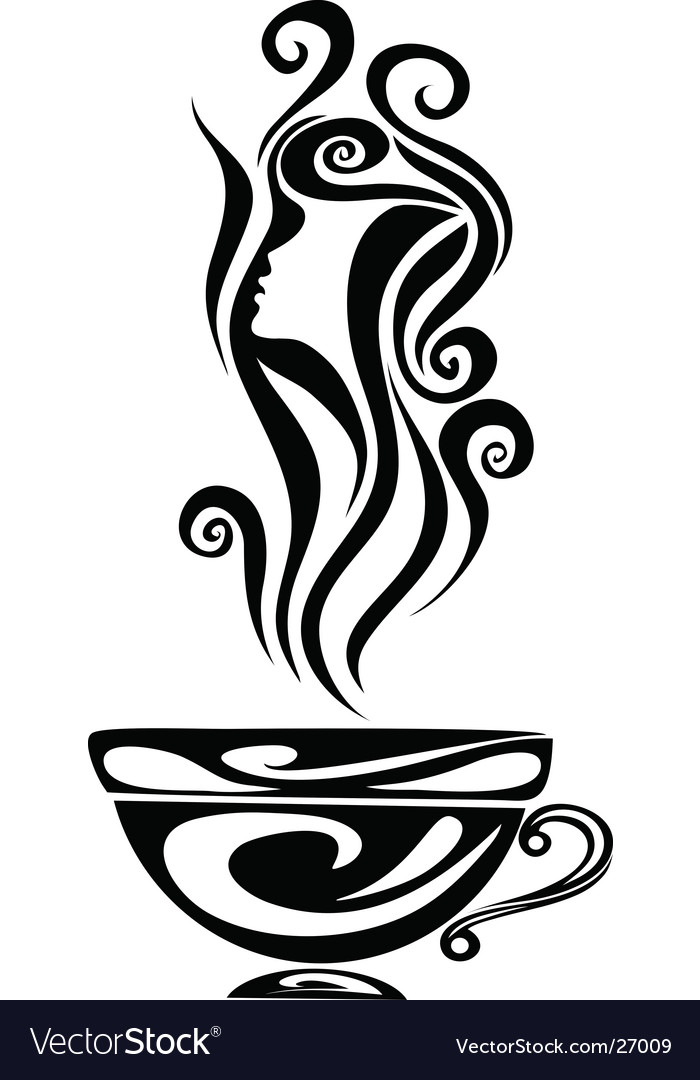 Elegant cup vector | Price: 1 Credit (USD $1)