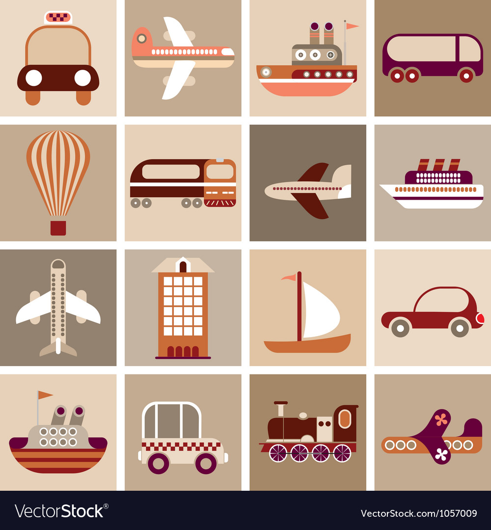 Travel and transport vector | Price: 3 Credit (USD $3)