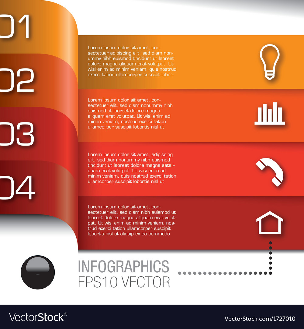 Infographics bulb 361a vector   Price: 1 Credit (USD $1)