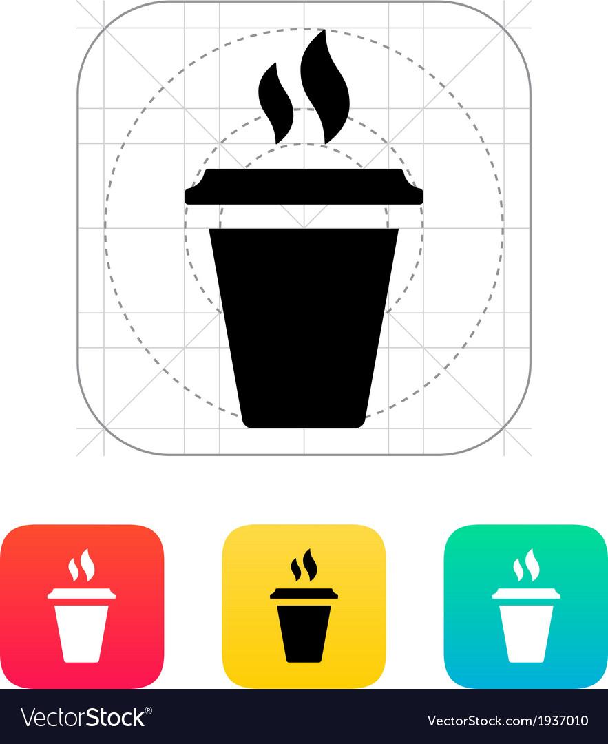 Plastic cup icon vector | Price: 1 Credit (USD $1)