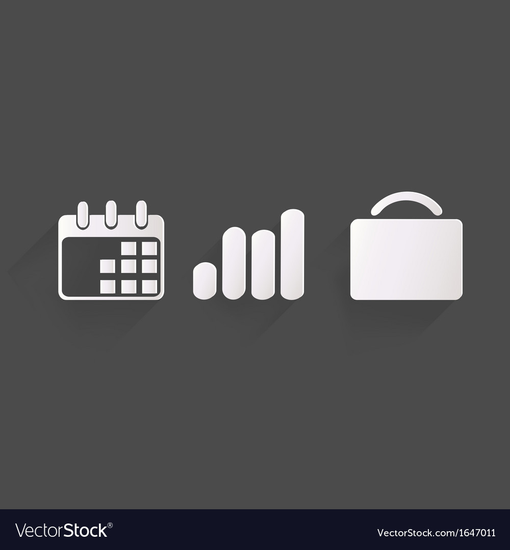 Business web icons vector | Price: 1 Credit (USD $1)