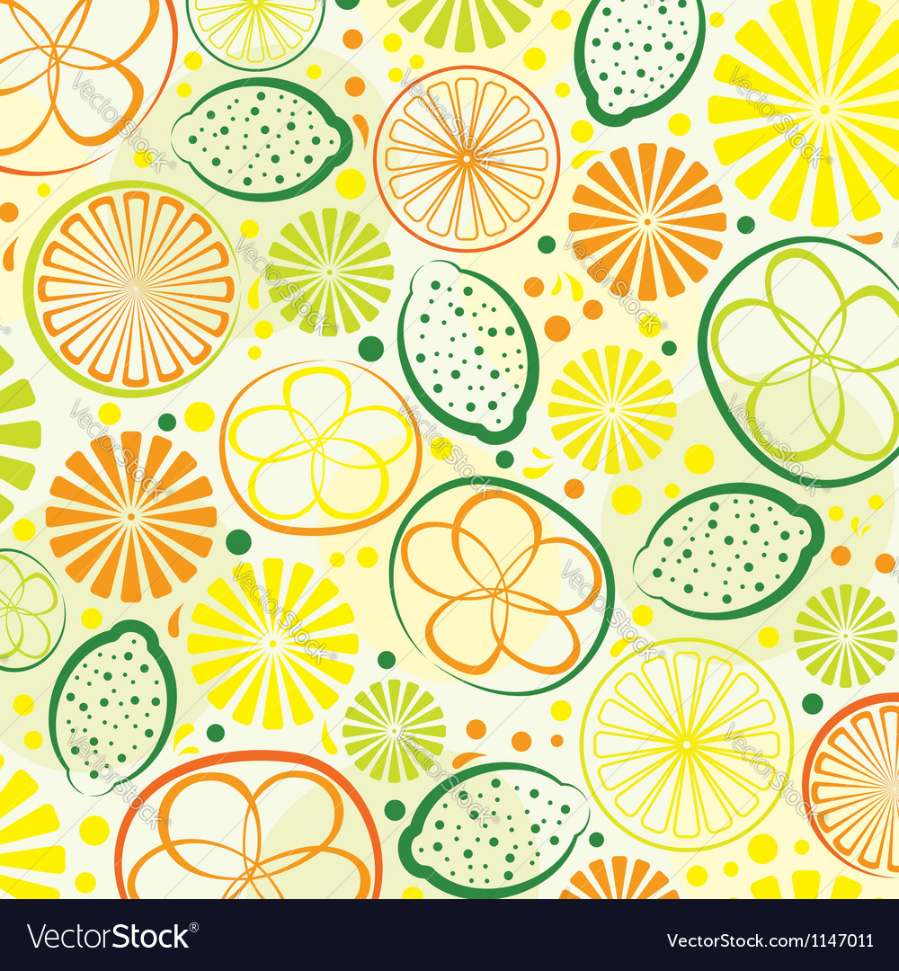 Citrus background vector | Price: 1 Credit (USD $1)