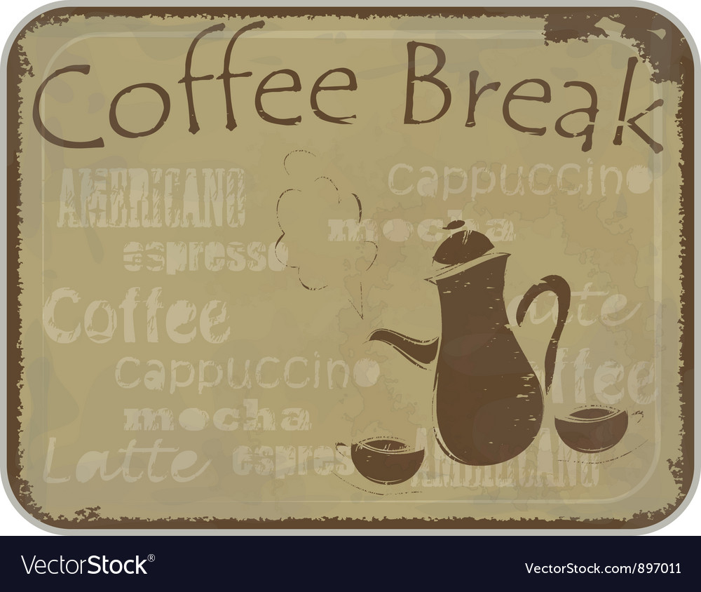 Coffee menu cover vector | Price: 1 Credit (USD $1)