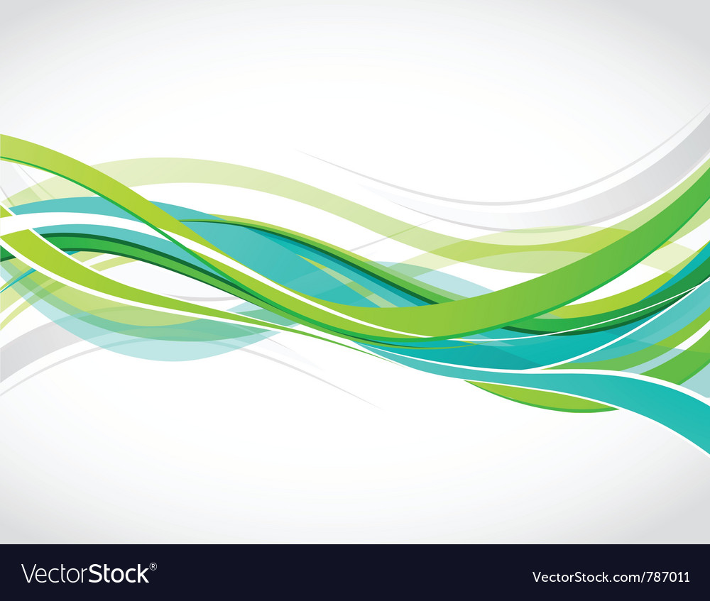 Colorful waves background vector | Price: 1 Credit (USD $1)
