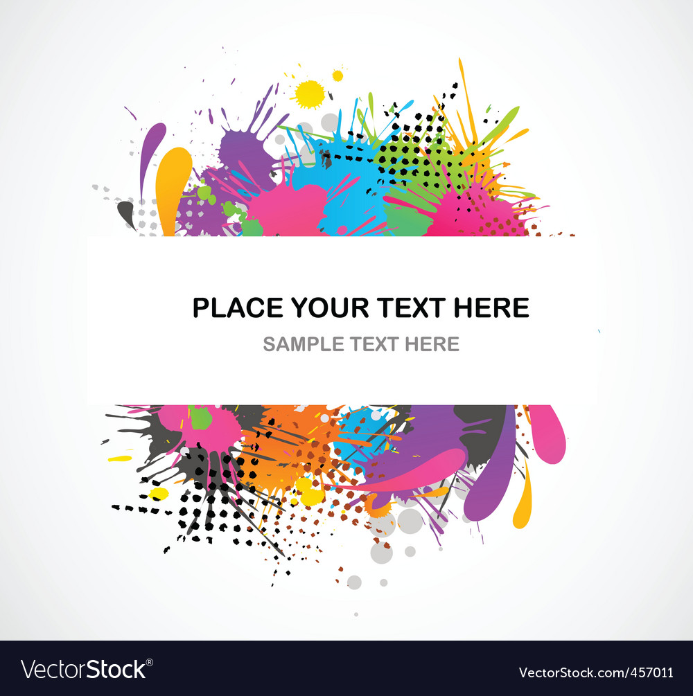 Grunge colors vector | Price: 1 Credit (USD $1)