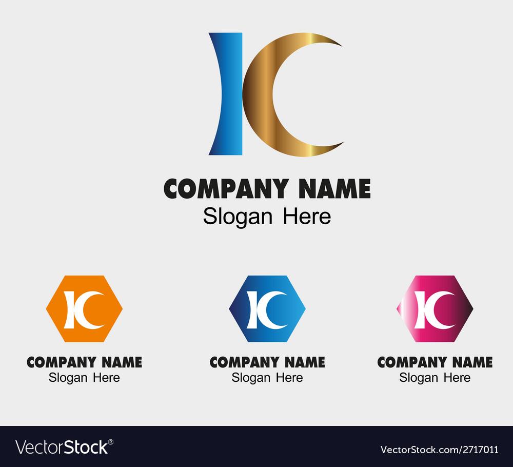 Kc letter logo symbol - k letter vector | Price: 1 Credit (USD $1)