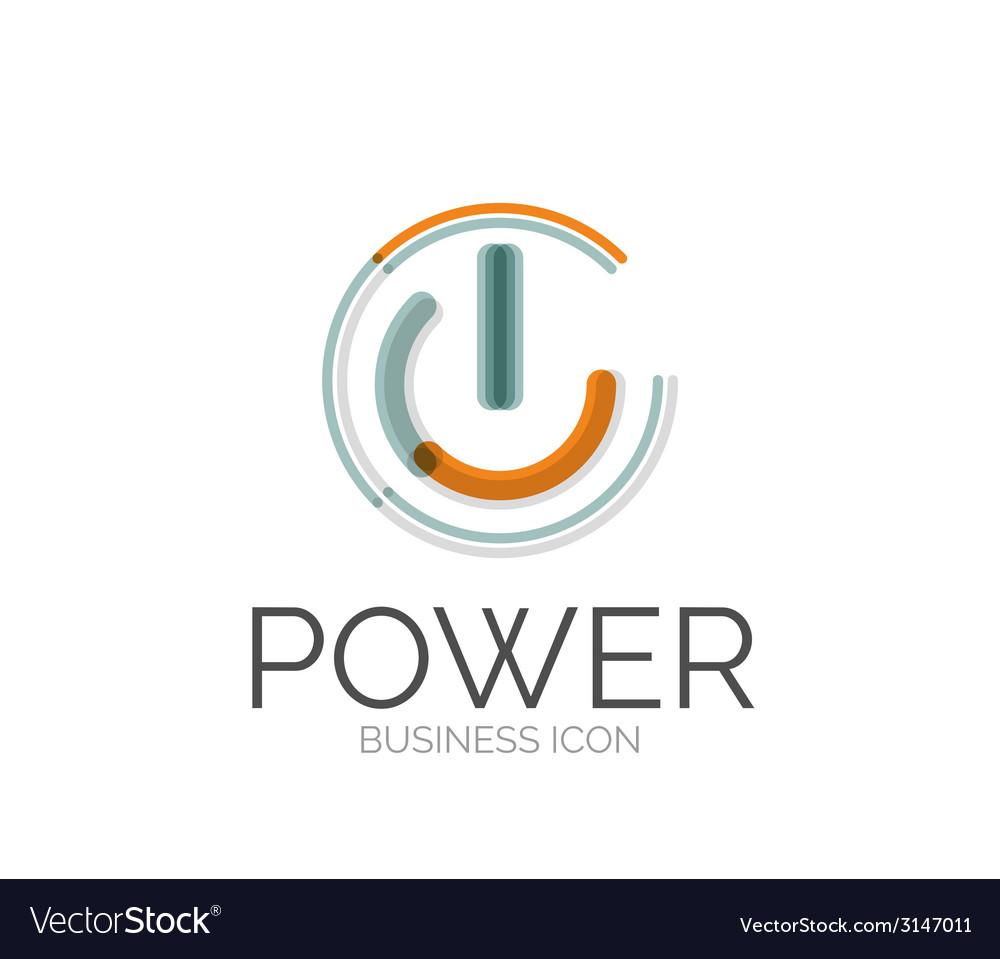Minimal line design logo vector | Price: 1 Credit (USD $1)