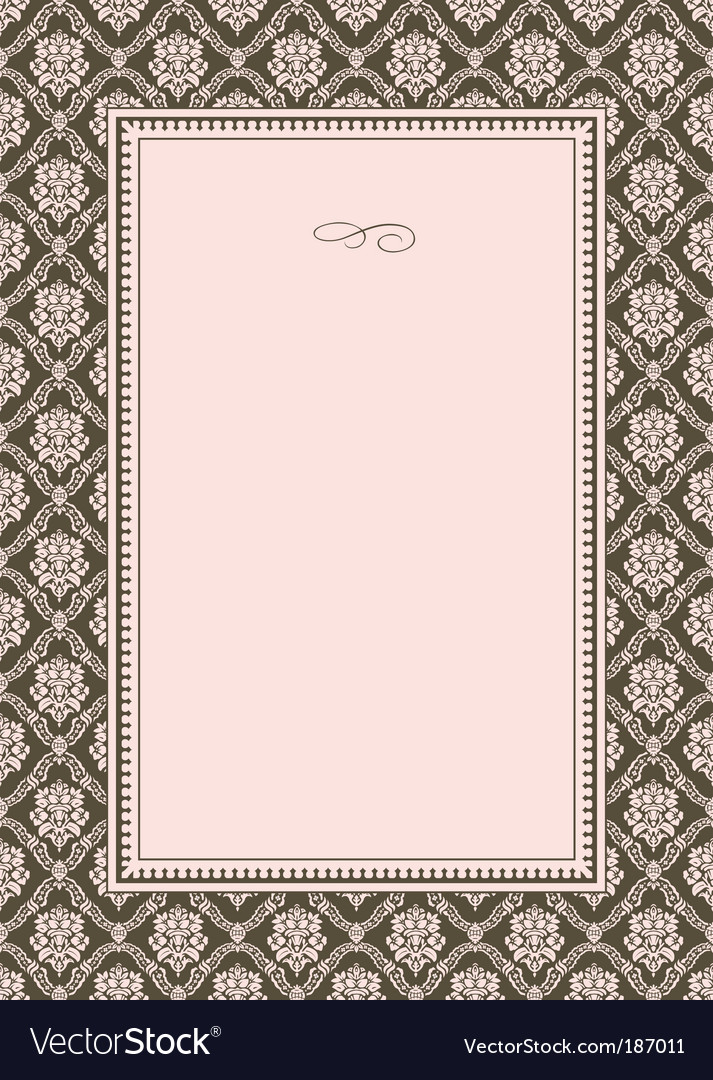 Pattern and border vector | Price: 1 Credit (USD $1)